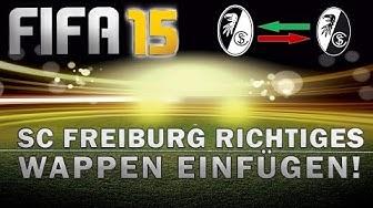 FIFA 15 - SC Freiburg falsches Wappen! - Richtiges Wappen einfügen - TUTORIAL - CREATION MASTER 15