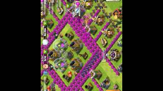 Clash Of Clans M4LxTerminater Road To Gold 270 Trophies To Gold Ep. 2