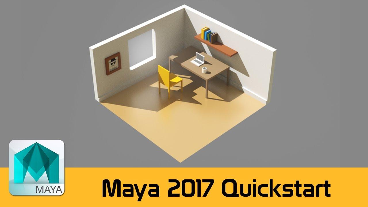 maya 2017 tutorials for beginners pdf