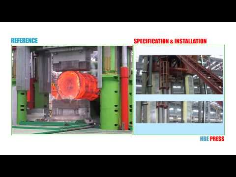 HBE PRESS_13000 ton large open die forging press