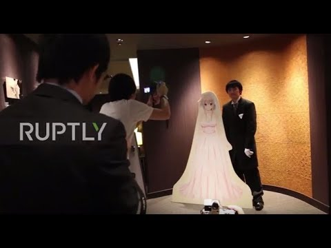 J P Wedding.Japan A Wedding Out Of This World Grooms Get Married To Vr Brides