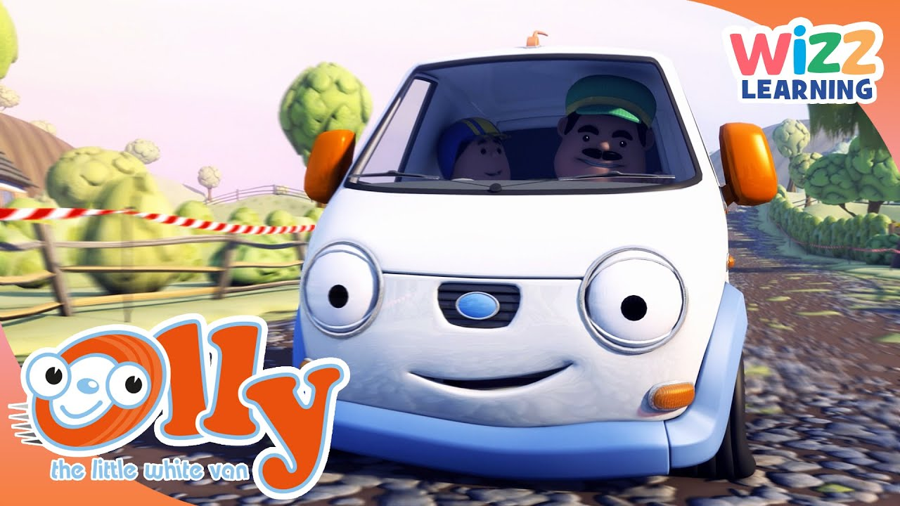 Olly The Little White Van - It's Spring! | Cartoons for Kids | Wizz Learning