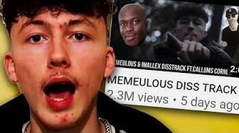 IRRITATING YOUTUBER MAKES DISS TRACK ON ME