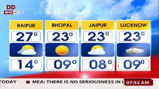 Weather: Lucknow at min. 9 degrees and forecast from other cities