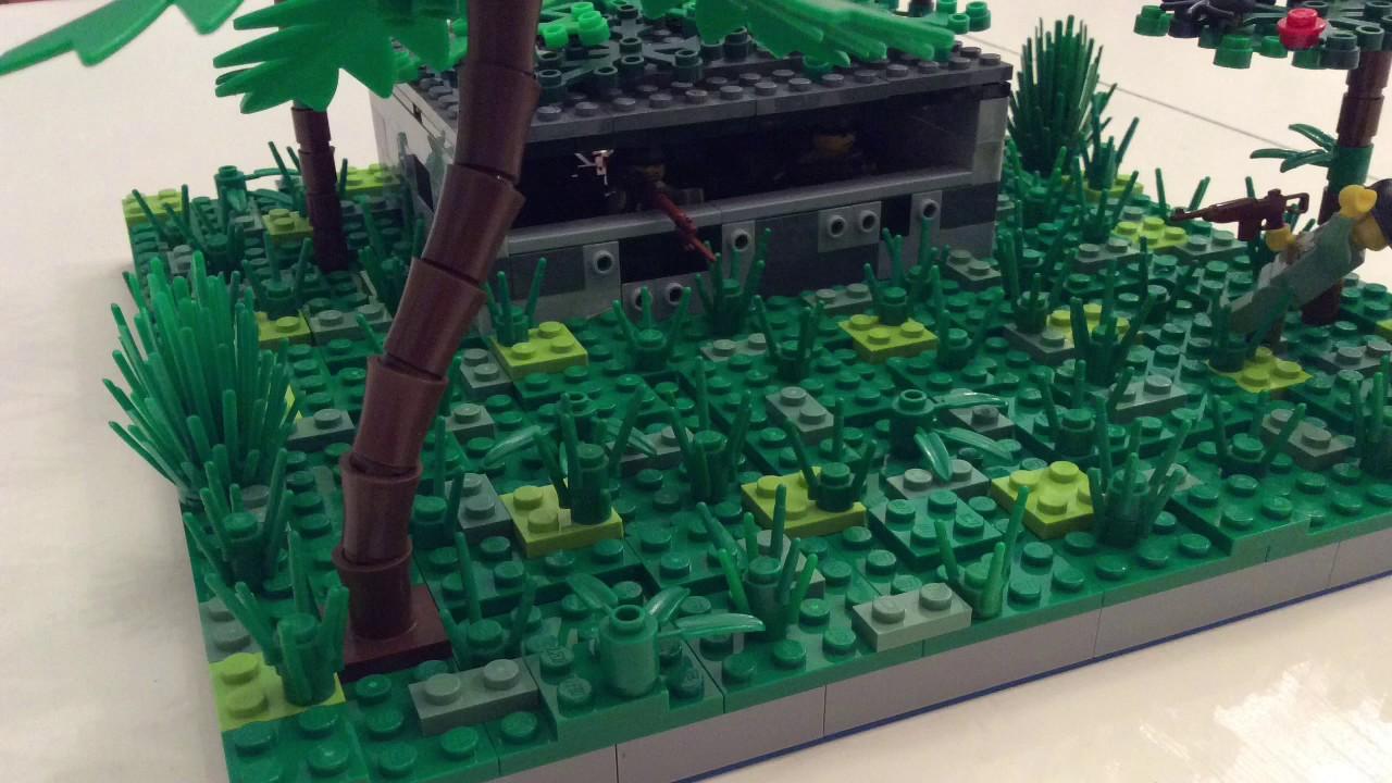 Lego Iwo Jima Campaign Moc - YouTube