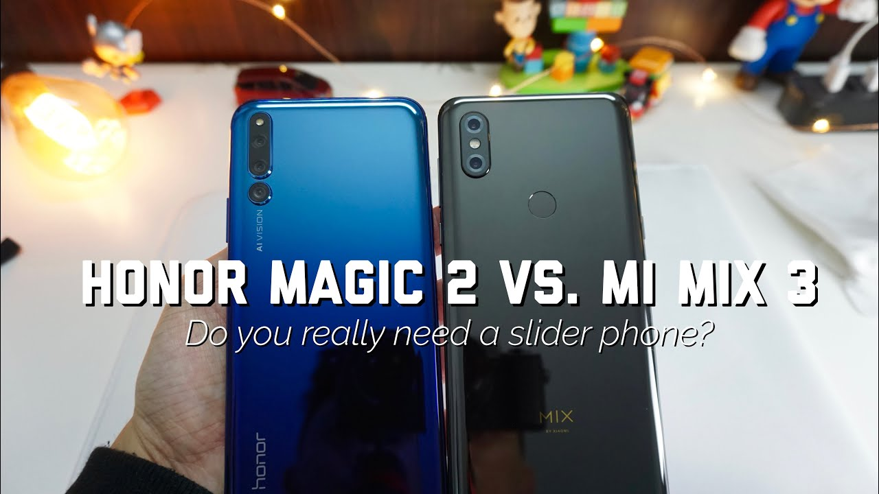 Honor Magic 2 vs. Mi Mix 3 - Which SLIDE are you on?