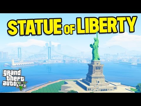 THE STATUE OF LIBERTY IN GTA 5