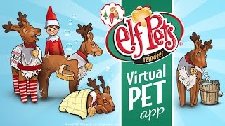 Elf Pets Reindeer - The Elf on the Shelf — Santa's Virtual Pet with Care Badges