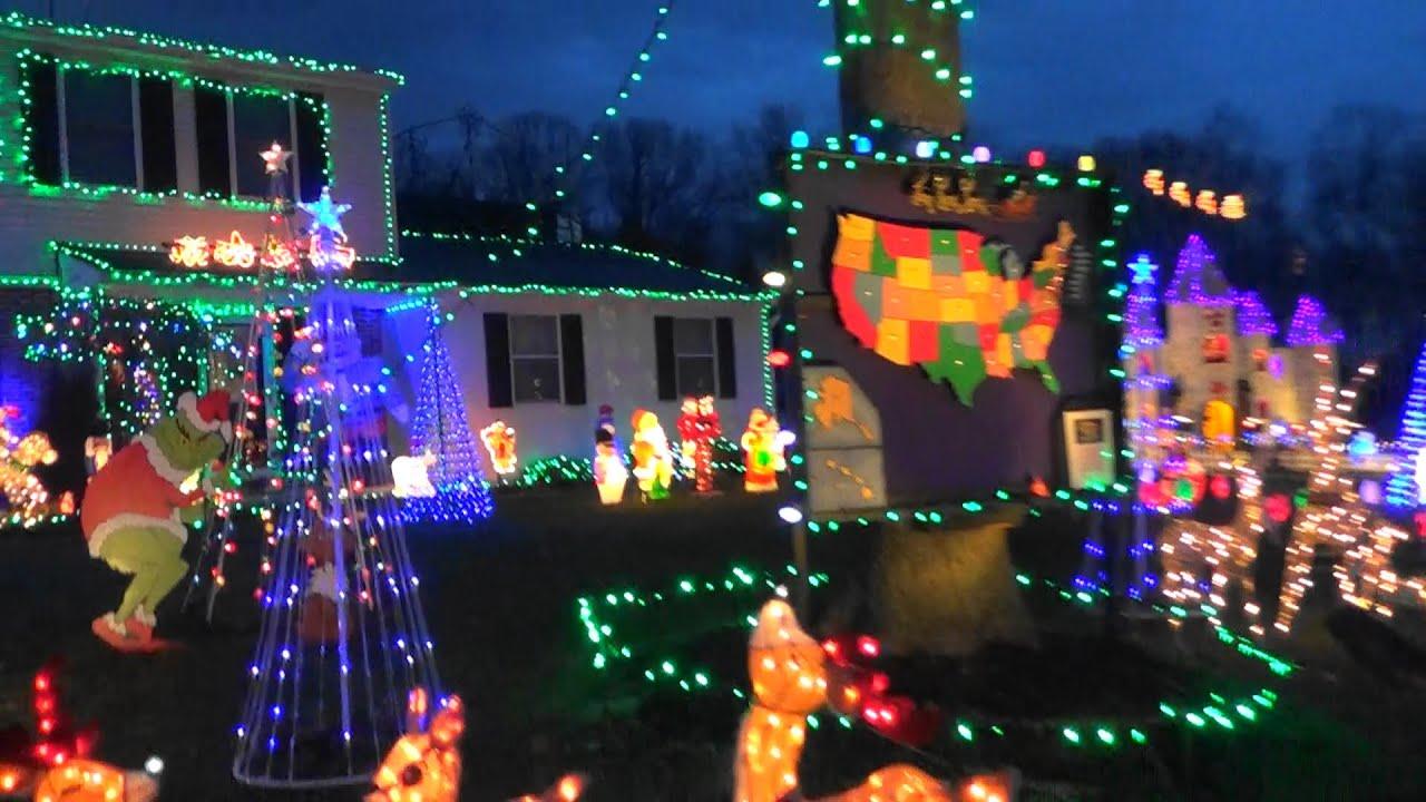 #1 Christmas lights 12-24-15 Drelicks harleysville,pa ...