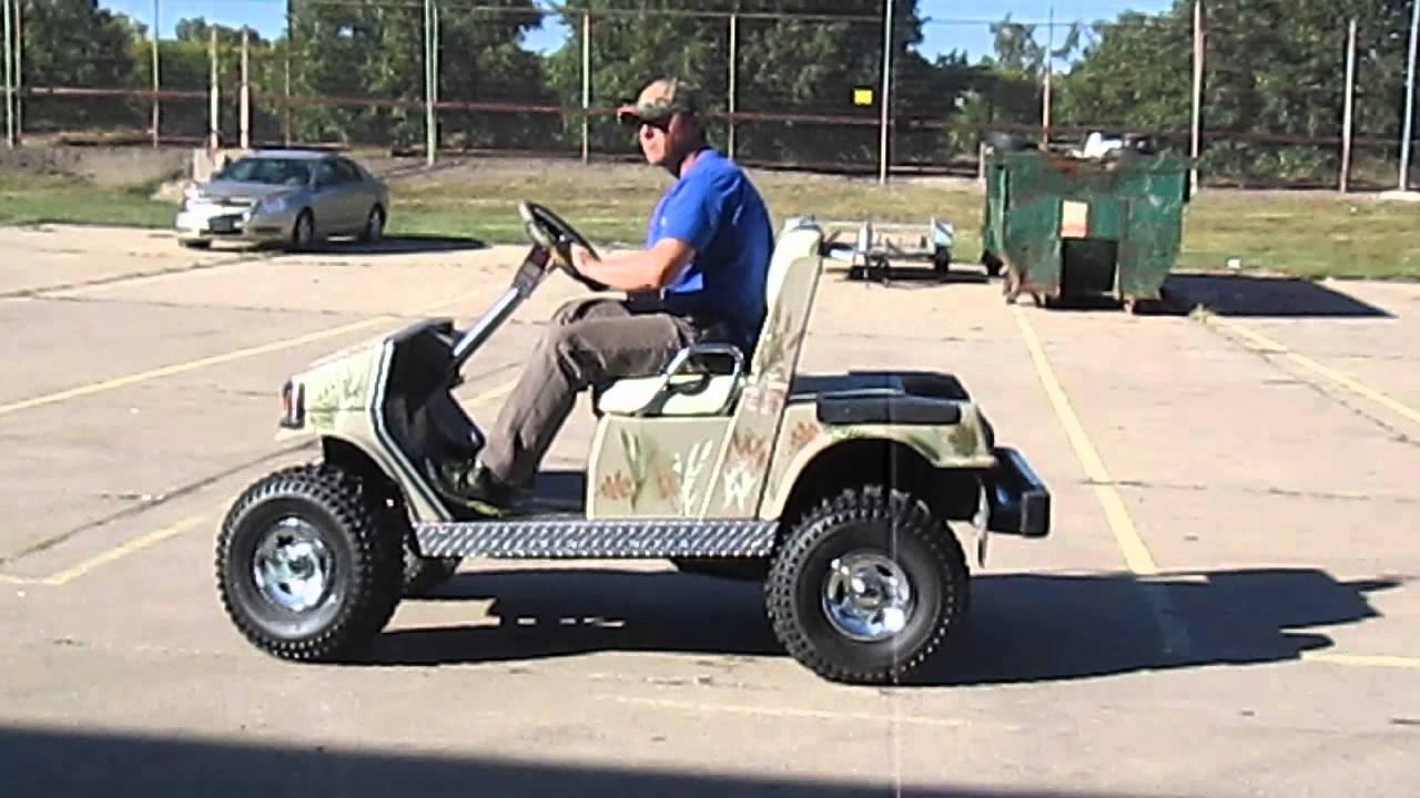 1988 gas golf cart yamaha youtube