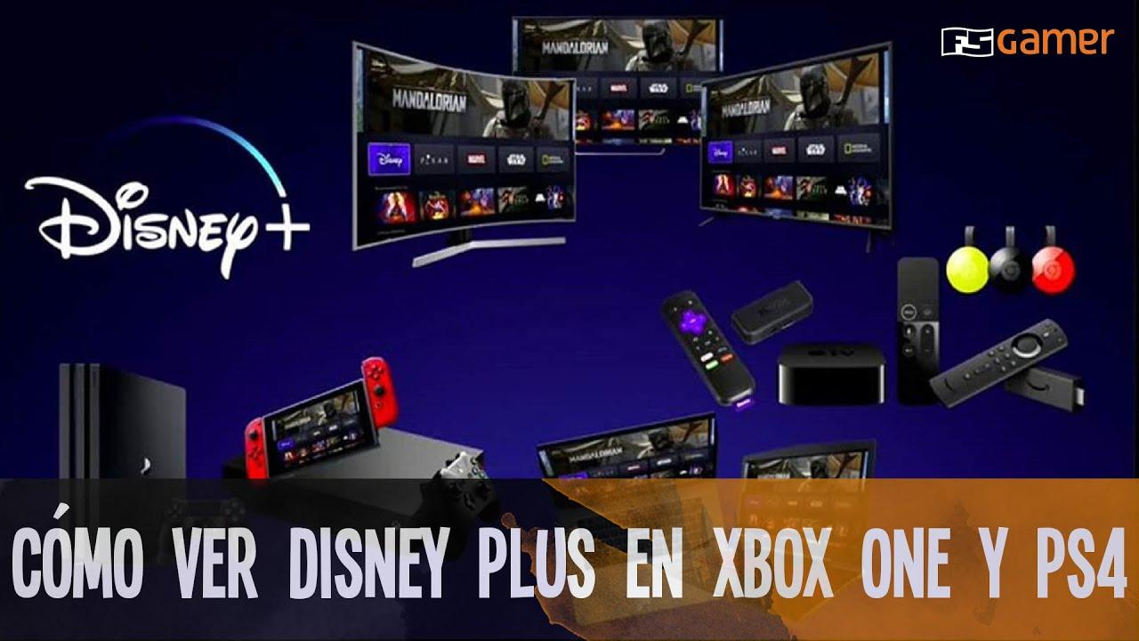 Disney Plus Playstation 4