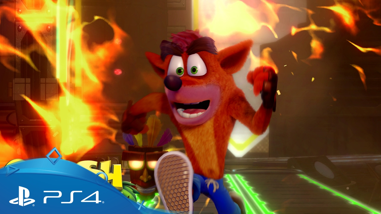 Crash Bandicoot Spiele