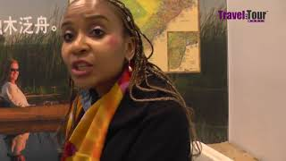 Obenne Mbaakanyi, Botswana Tourism in conversation with Travel And Tour World at BITM