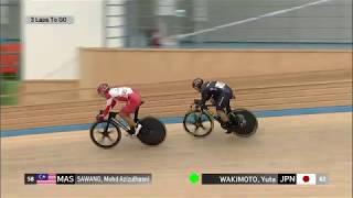 (19.10.21) Elite Men's sprints Fina [40th Asian Track Championships]
