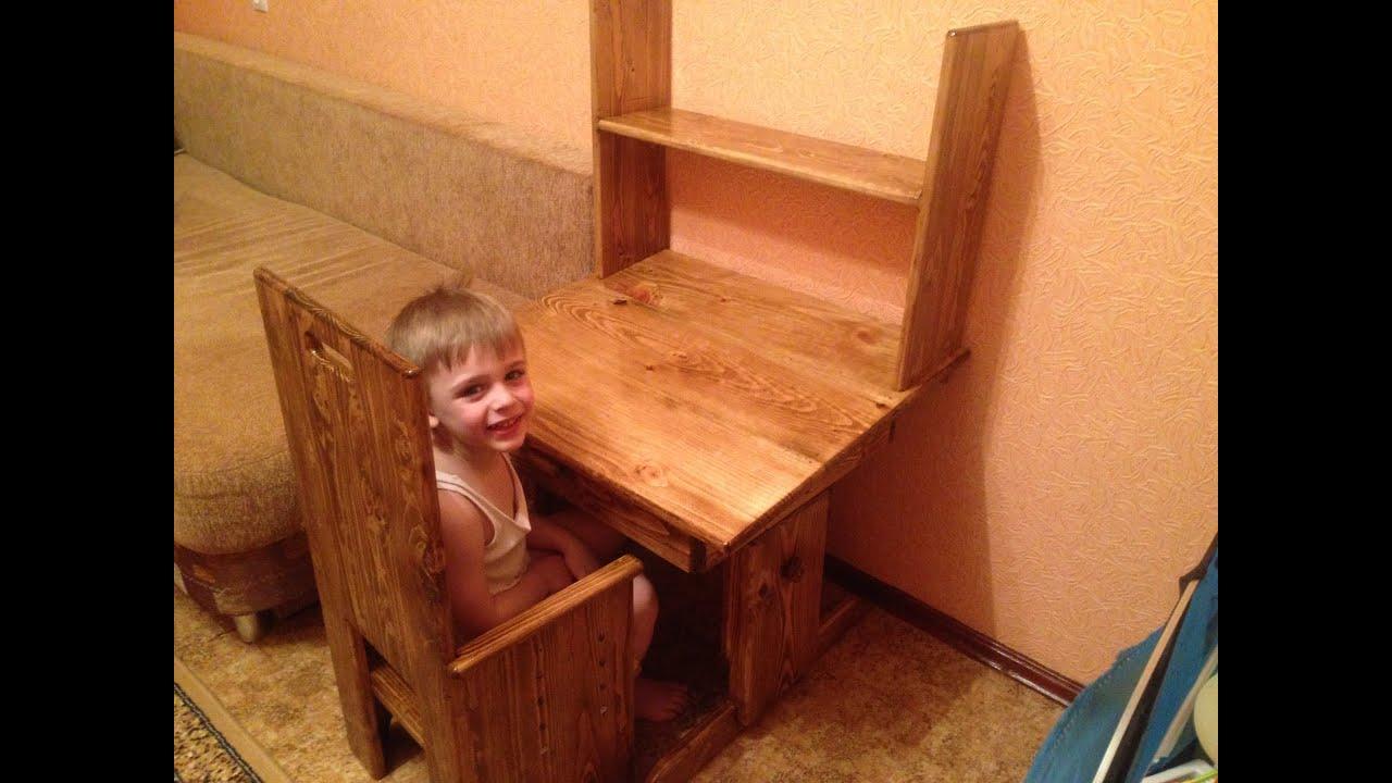 Столик для ребёнка своими руками фото