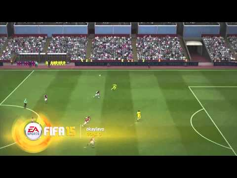 FIFA15 Fans' Goal Of The Month December