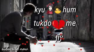 Yeh Dil Tanha Kyun Rahe WhatsApp status sad song