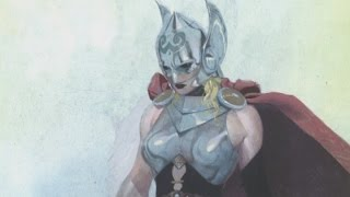 Marvel comic book hero Thor becomes a woman in new series