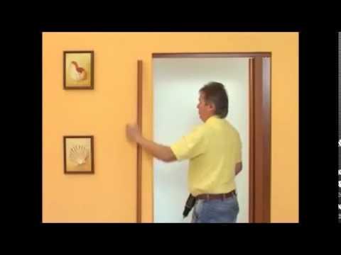монтаж двери   гармошка