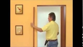 видео Межкомнатные двери гармошка  от Леруа Мерлен