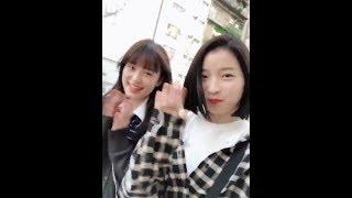 20180928 丹羽絵里香ちゃん(原宿乙女)twitter動画 ・丹羽絵理香 ・遠藤...