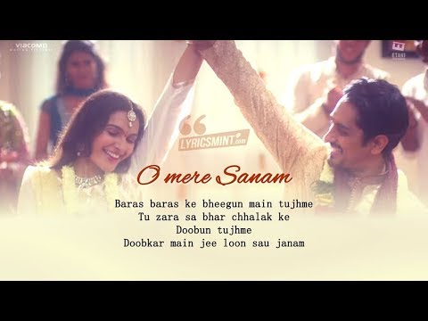O MERE SANAM LYRICS _ THE HOUSE NEXT DOOR.