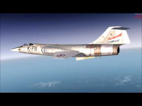 F-104G zoom to 88700ft