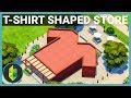 T-SHIRT SHAPED STORE - The Sims 4 Build