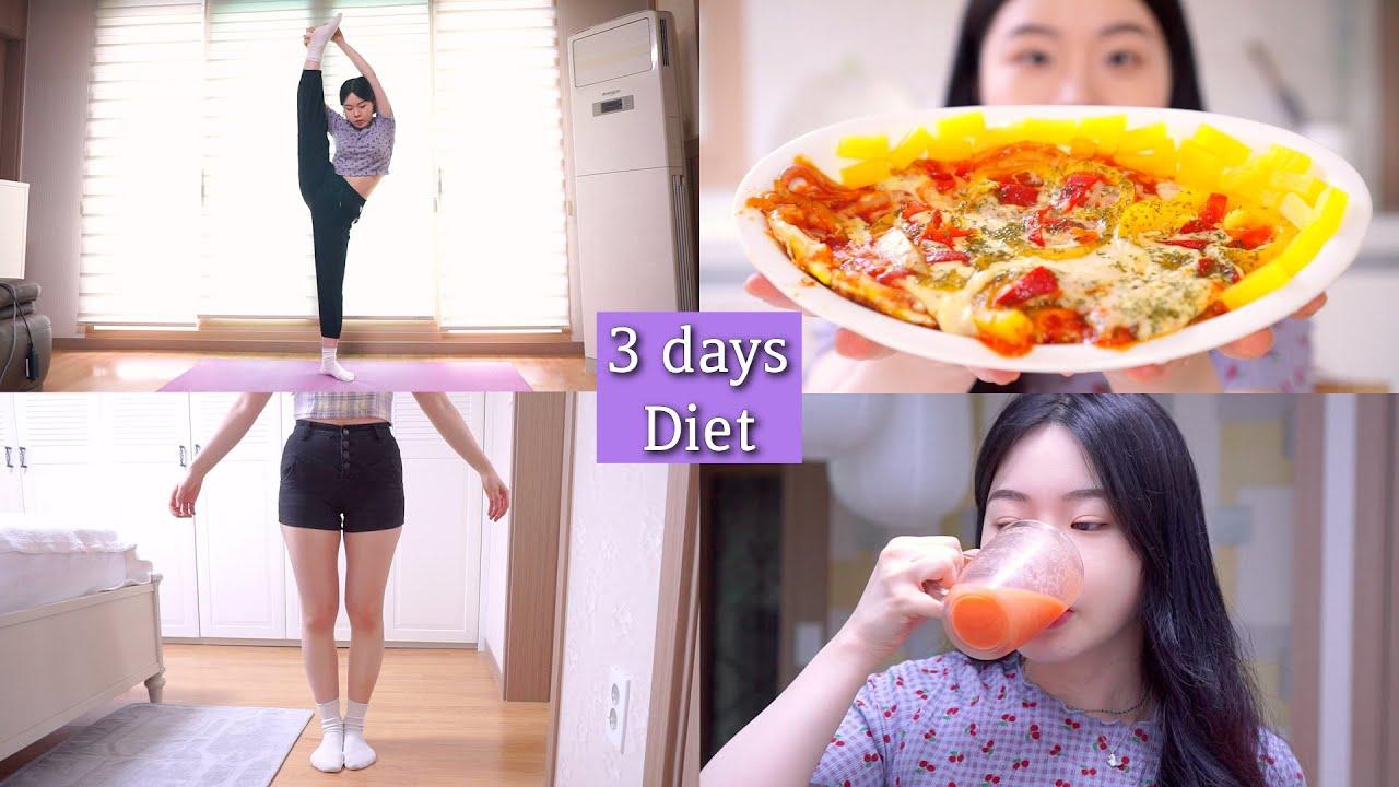 Download Diet 🍎3일 동안 -1.5kg 치즈 쭈욱 늘어나는 인생 계란프라이 피자 만들어 먹기, 코코아 가루로 꿀초코 아이스크림