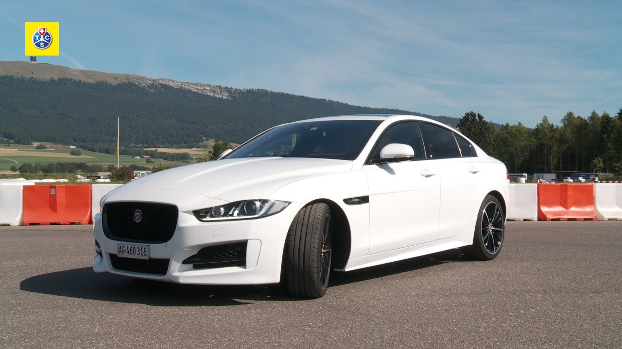 jaguar xe 20d r sport autotest youtube. Black Bedroom Furniture Sets. Home Design Ideas