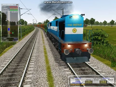 Indian MSTS; BTPN Freight; WDM3D
