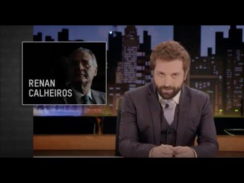 GREG NEWS com Gregório Duvivier   RENAN CALHEIROS