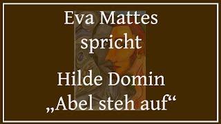 """Hilde Domin – """"Abel steh auf"""""""