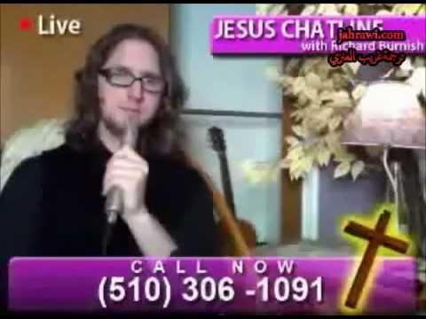 A Muslim calls Jesus Chat Line Channel