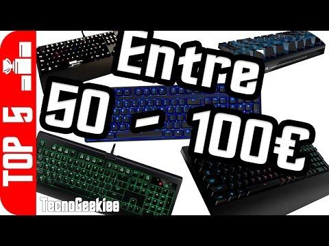 Top 5 - Teclado de 50€ a 100€ - Mejores teclados gamer en calidad precio para jugones
