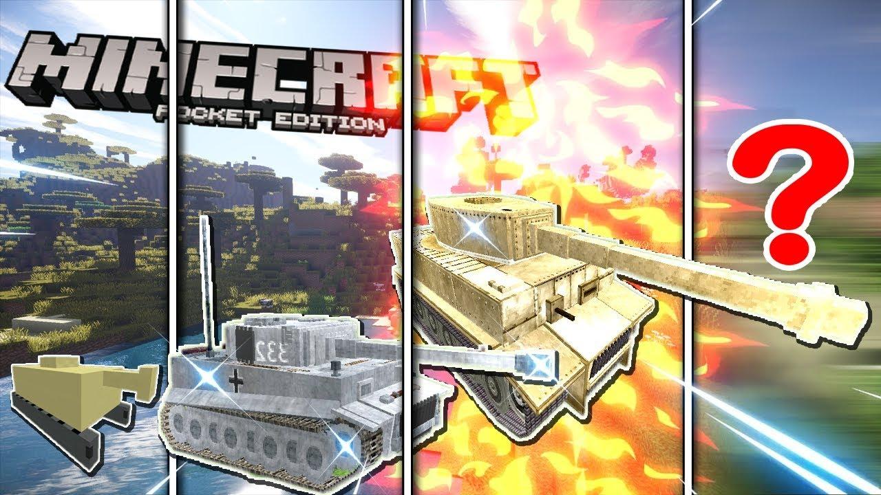 NẾU SLENDERMAN SỞ HỮU XE TANK CHIẾN ĐẤU MẠNH NHẤT TRONG MCPE   Cuộc Sống Minecraft PE