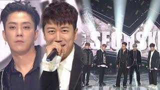 《LEGEND》 SECHSKIES(젝스키스) - Something Special(특별해) @인기가요 Inkigayo 20171015