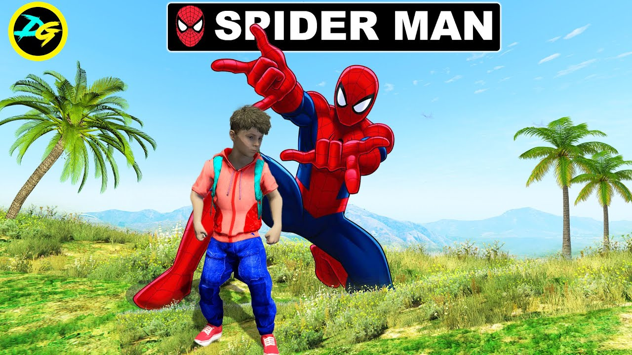Adopted By SPIDER MAN in GTA 5