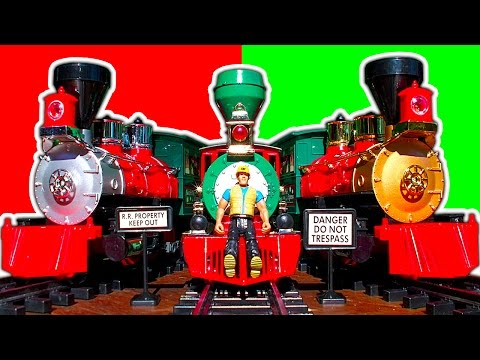 Thumbnail: G Scale Christmas Trains Review 2014 & How To Make An Awesome Cheap Christmas Train