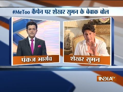 Shekhar Suman, Amitabh Bachchan, Amir Khan opens-up over #MeToo movement in India