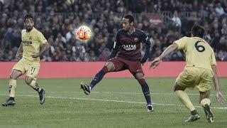 GOL ANTOLÓGICO DE NEYMAR - Barcelona x Villarreal (08/11/2015)