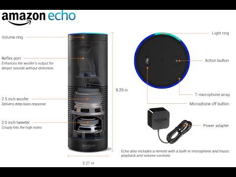 Amazon Echo Records Your Voice