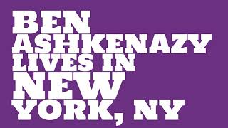 Ben Ashkenazy: 2017 Net worth