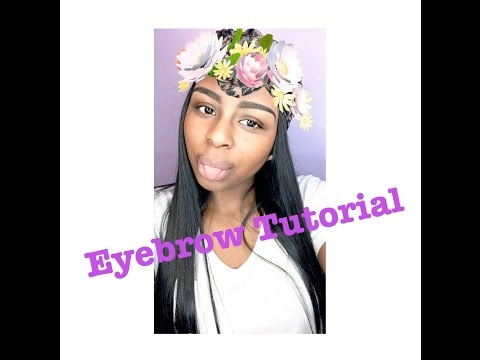 Easy Eyebrow Tutorial!