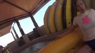 Rus & Ali ride the Burj Surj @ Wild Wadi