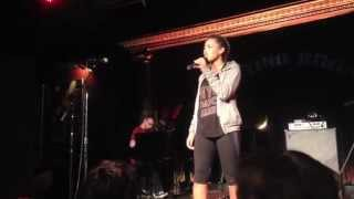 "India Carney sings ""If You See Something (Say Something)"" from ""Held Momentarily"""