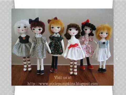 Handmade Cloth Dolls Youtube