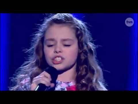 Mega zdolna dziewczynka śpiewa piosenkę Katy Perry unconditionally - Mali Giganci [TVN]