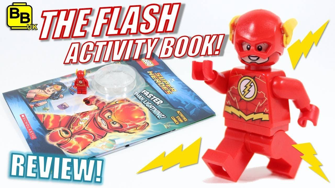 Oh Yeah Lego Dc The Flash Minifigure Book Review Youtube