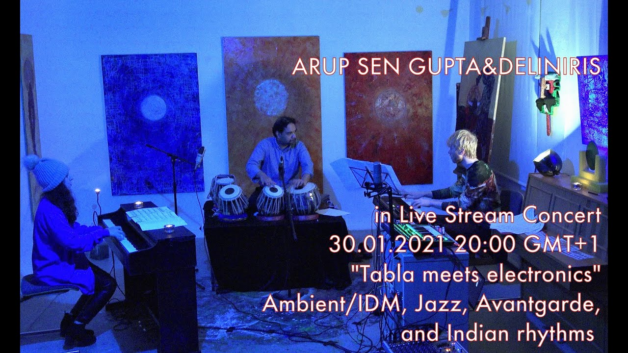 Duo DELINIRIS and Arup Sen Gupta - Live Stream Concert